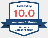 AVVO Rating 10.0 Workers' Compensation